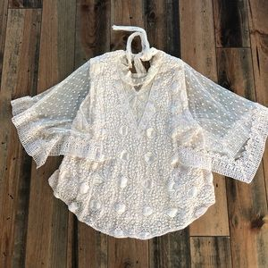 Free People Lace Top 🌿 size S